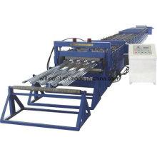 Máquina formadora de rollos de plataforma de piso de chapa de acero galvanizado