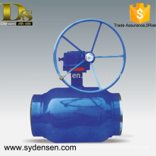 Densen ofreció válvula de bola de control de flujo de gran tamaño