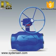 Densen offered big size flow control ball valve