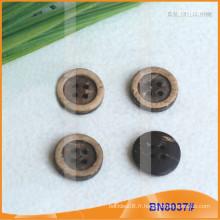 Boutons de noix de coco naturels pour vêtement BN8037