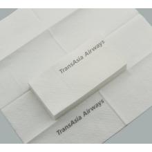 Disposable folding napkins for restaurants