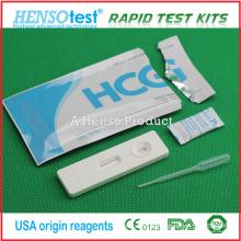 Kit de Teste de Diagnóstico Rápido de um passo para Gravidez