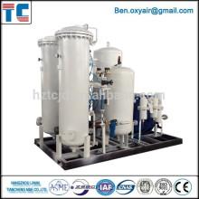 Máquina de nitrógeno de gas PSA para la vulcanización de caucho