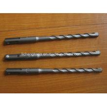 SDS-Plus Hammer Drill Bit with Flat Head Sandblasting Finish