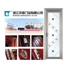 Precio de fábrica Aluminio Decorativo Baño T Puertas