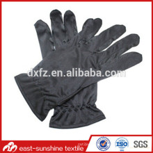 logo printed microfiber jewelry cleaning gloves,microfiber fingers jewelry gloves