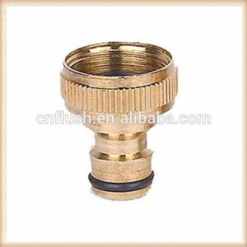 High preicison machining brass male thread connector for hose