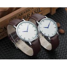 Yxl-574 36mm 40mm montre populaire en acier inoxydable à quartz mince, montre mince d'hommes, montre mince de femmes