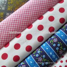 100%Cotton fabric 140*72 CM40*CM40 128gsm high quality from Vietnam