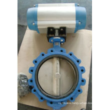 Cast Iron Lug Type Butterfly Valve with EPDM Seat 150lb/Pn16