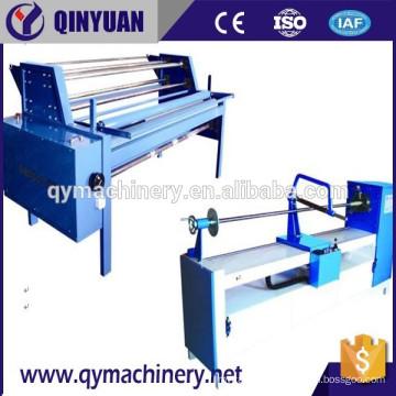 Machine de découpe oblique textile