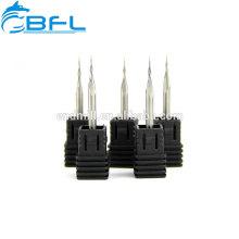 Moinho de extremidade do cortador de trituração da bola do atarraxamento da dureza de BFL-CNC / carboneto de extremidade para a ferramenta de corte do CNC