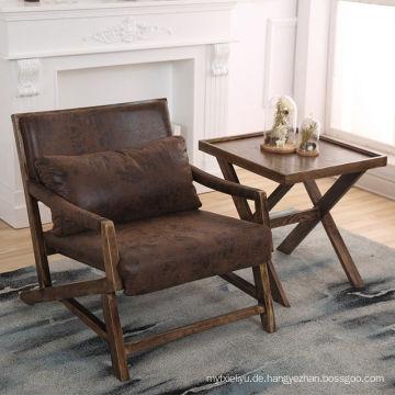 PU-Sitz Esszimmer Stuhl im Schwamm gebrauchte Esszimmermöbel zum Verkauf