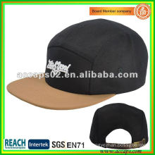 new brand embroider fanshion 5-panel hat NC0003