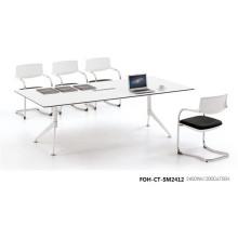 Table unique de table de tableau blanc pour réunion (FOH-CT-SM2412)