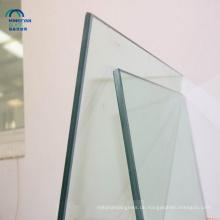 China Lieferant klar Farbe 10mm 12mm dick gehärtetem Glas Preis für Gebäude und Verkauf