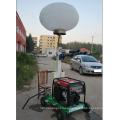 Torre de luz LED inflable con carro para construcción al aire libre minería edificio de emergencia FZM-Q1000