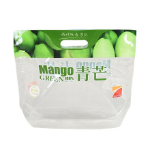 Fruit Fresh Keeping custom plastic packaging Bag with Hole