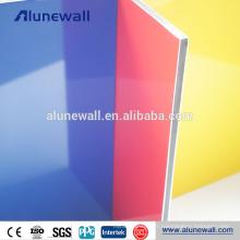 Matériau de revêtement en aluminium patio toit polyester résine panneaux muraux