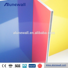 Cladding material aluminum patio roof polyester resin wall panels