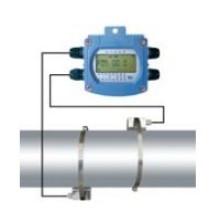 Medidor de Vazão Ultrassônico a Bateria