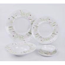Porzellan Lieferanten Porzellan Geschirr Set mit Abziehbild