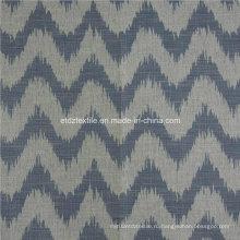 Горячее льняное, как жаккардовый дизайн мягкой текстильной ткани для штор