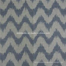 Hot Linen Like Jacquard Design of Soft Textile Window Curtain Fabric