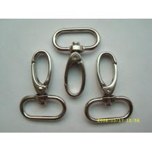 promotional custom stainless steel swivel snap hook for belt