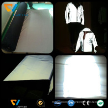 wholesale customized fluorescent safety reflective glove material with EN471