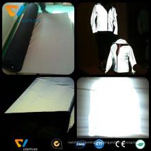 Atacado personalizado fluorescente segurança material reflective luva com EN471