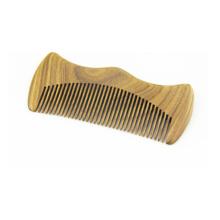 Pente de cabelo bigode de madeira direto da fábrica por atacado