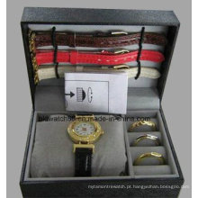 Conjuntos de relógio de presente para meninas com faixas mutáveis