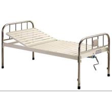 Hospital Furniture Epoxy Coated Semi-Fowler Medical Bed B-31