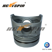6hh1 Isuzu Alfin Piston with 115mm Bore Diameter, 106.5mm Total Height, 62.7mm Compress Height with 1 Year Warranty