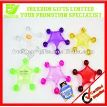 Promotion Five Star Plastic Massager