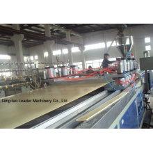 Panel de construcción de máquinas WPC Foam Board
