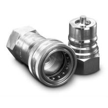 Quick-release coupling for agricultural machinery