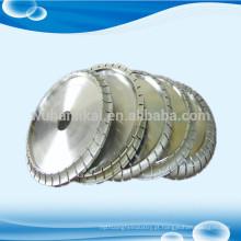 Fábrica diretamente galvanizado diamante perfil roda de pedra rebolo