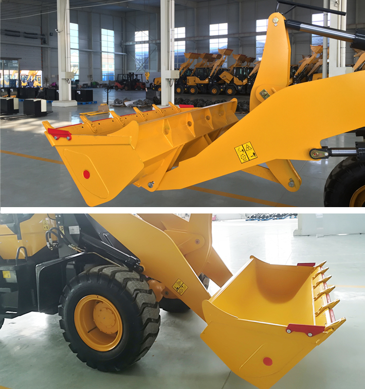 front bucket mini loader