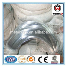 hot sale electro galvanized wire export to DUBAI
