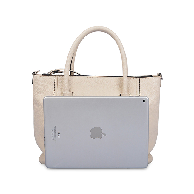Popular Simple Woman Large Leather Tote Bag