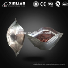 Levante el bolso de aluminio de la bolsa de la cremallera del vacío / el bolso de empaquetado del vacío de la cerradura del cierre relámpago