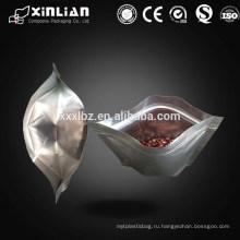 Вставной алюминиевый вакуумный мешок застежки -молнии мешка / застежка-молния мешок вакуума упаковывая