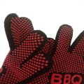 High-temperature Resistant BBQ Gloves Silicone Coated