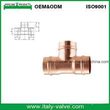 Top Quality CE Certified S/Ring Copper Tee (AV8050)