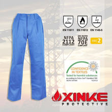 Excellent quality flame retardant man pants
