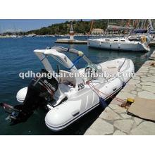 Luxus GFK Rumpf Rib Boot HH-RIB580C mit CE-Kennzeichnung