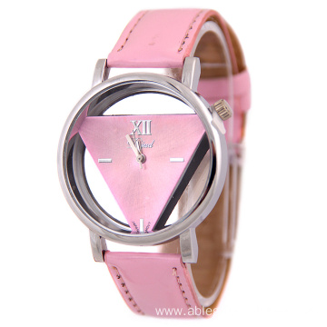 New Design Women Leather Quartz Wrist Watch HOT SALE