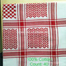 Lenço de cabeça em tecido Keffiyeh feito na China
